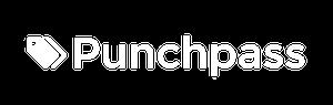 Punchpass logo white 300wd
